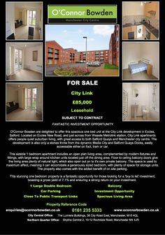 1 Bed At City Link 85k Rental Yield Of 7 Contact