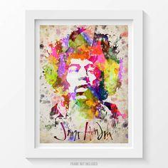 Jimi Hendrix Poster, Jimi Hendrix Print, Jimi Hendrix Art, Jimi Hendrix Decor, Home Decor, Gift Idea by Agedpixel on Etsy https://www.etsy.com/listing/209225071/jimi-hendrix-poster-jimi-hendrix-print