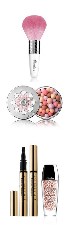 Subtle and sweet is the name of the Guerlain beauty game.
