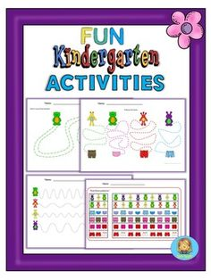 Children can practice patterns, fine motor skills and visual discrimination with this set of mixed activities. Enjoy!.