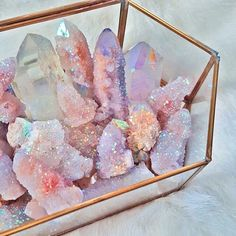 Imagen de crystal, pink, and glitter