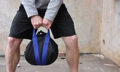 Kettlebell sandbag - all of the benefits with less risks