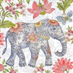 Asian Elephnat ~ by Elena Vladykina