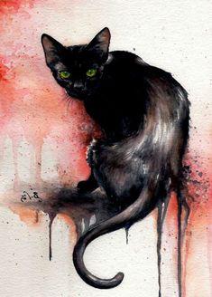 Un gato negro es asesinado. Pero ahí solo empieza esta historia clásica de Edgar Allan Poe