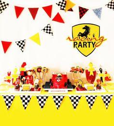 Fazendo a Minha Festa Infantil: Ideias Festa Ferrari!