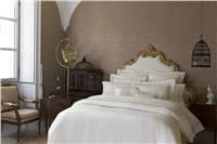 Giza 45 lace White or Ivory Egyptian Cotton Italian Duvet Cover and Pillow shams by Sferra