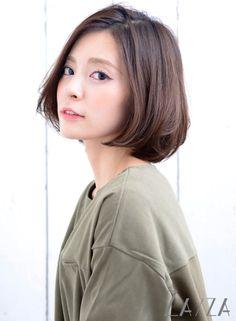 ニュアンス大人ボブ 【ZA/ZA 神楽坂店】 http://beautynavi.woman.excite.co.jp/salon/20187?pint
