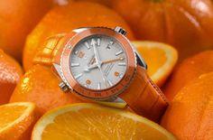Omega Planet Ocean Orange Ceramic Limited