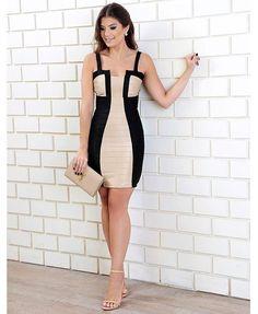 Começar esse sábado lindo esse vestido maravilhoso chegou na @jjmodas nos tamanho P M G www.jjmodas.com.br