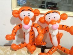 造型氣球 跳跳虎 tigger balloon twisting