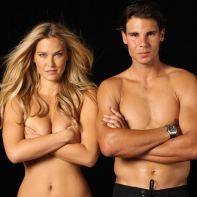 Rafael Nadal shirtless Bar Refaeli (6)