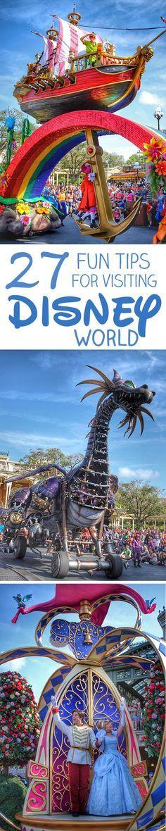 27 Fun Tips for Visiting Walt Disney World
