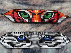 Patry - Accessories of Women Beading Patterns Free, Bead Loom Patterns, Bead Loom Bracelets, Beaded Bracelet Patterns, Motifs Perler, Friendship Bracelets Designs, Beads Pictures, Beaded Animals, Seed Bead Jewelry
