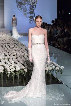 8064cefd5125 Lusan Mandongus 2015 Wedding Dresses — A Story of Romance Bridal Collection