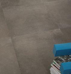 [ Younhyun Tile / 윤현상재 타일 ] Exposed Concrete Style Tile : Urban Concrete Night / Size (cm) : 600X600