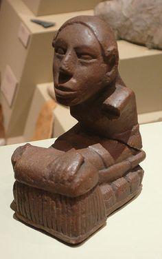 Keller figurine, stone, Cahokia, Illinois