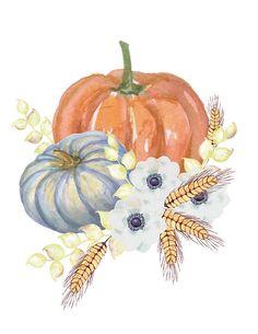 Fall Printable Art Autumn Art Pumpkin Still Life by WhatEveryday Autumn Painting, Autumn Art, Pumpkin Art, Pumpkin Tattoo, Hallowen Ideas, Manualidades Halloween, Autumn Illustration, Autumn Crafts, Fall Wallpaper