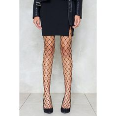 Nasty Gal Candy Shop Diamante Fishnet Tights (€21) ❤ liked on Polyvore featuring intimates, hosiery, tights, black, high waisted tights, nasty gal, fishnet hosiery, fishnet tights and fishnet pantyhose