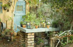 provence garden Porches, Garden Art, Garden Design, Magic Places, Modern Residential Architecture, Provence Garden, Potting Tables, Potting Sheds, Earth Homes