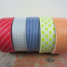 mt tape Prime Set Of 5, $20, now featured on Fab.