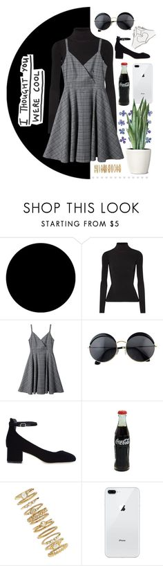 """""""Untitled #234"""" by happy-sunflower ❤ liked on Polyvore featuring Wall Pops!, Elizabeth and James, Sandro and Forever 21"""