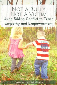 How we manage sibling rivalry between our kids can have a huge impact on their character. Here's how coaching kids through conflict can teach them empathy and empowerment.