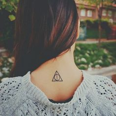 Deathly Hallows | 31 Totally Drool-Worthy Tattoos For Fantasy Lovers