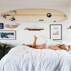 My room. Beach Room Decor, Cute Room Decor, Home Decor Bedroom, Bedroom Inspo, Bedroom Ideas, My New Room, My Room, Surf Room, Boho Room