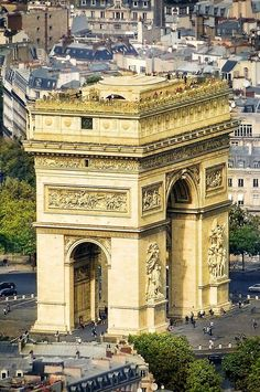 ♚ Arc de Triomphe, Paris