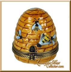 Bee hive Limoges box