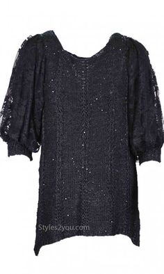 Pretty Angel Clothing Marjorie Vintage Sweater In Black
