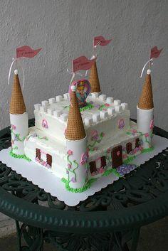 cinderella castle cake   Cinderella Castle Cake   Flickr - Photo Sharing!.