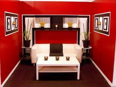 Design Star Love This Show Creative Walls Black Rooms Red