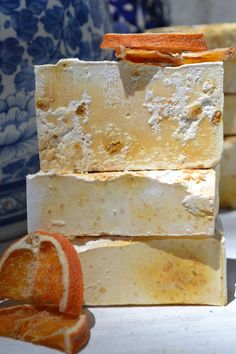 ORANGE and CINNAMON SOAP