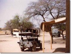 A l'époque, nos véhicules d'infanterie ne sont ni blindés ni armés : c'est seulement douze ans plus tard que le 3ème RIMa sera équipé de véhicules blindés armés d'une mitrailleuse. (photo Patrick Langöhrig)