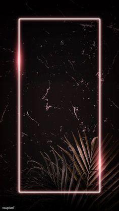 premium illustration of Rectangle pink neon frame on tropical Rectangle pink neon frame on tropical leaves background vector Framed Wallpaper, Neon Wallpaper, Phone Screen Wallpaper, Graphic Wallpaper, Aesthetic Iphone Wallpaper, Aesthetic Wallpapers, Wallpaper Backgrounds, Neon Backgrounds, Free Video Background