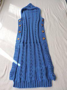 Most Beautiful Knitting Baby Sleeping Bag Patterns - Knittting Crochet - Diy Crafts - hadido Baby Knitting Patterns, Crochet Baby Cocoon Pattern, Newborn Crochet, Knitting For Kids, Loom Knitting, Baby Patterns, Knit Crochet, Easy Knitting, Crochet Patterns