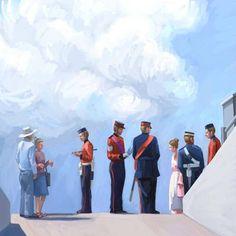 Kingston Fort Henry – Kai Liu Art Blog Kai Arts, Kingston, Art Blog, Digital, Drawings, Illustration, Painting, Illustrations, Painting Art