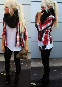 Cute fall fashion outfit for girls