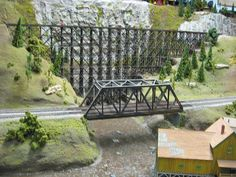 HO Scale Model Train Layouts | Medina Railroad Museum HO Scale Model Train Layout (78)