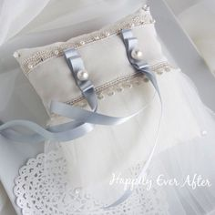 ヴェールのような ドレスのような たっぷりチュールのリングピロー / ハンドメイド通販・販売のCreema/ #ring pillow #wedding #リングピロー