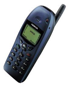Nokia, de los primeros celulares.
