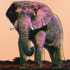 Elephant II.293 | From a unique collection of prints and multiples at https://www.1stdibs.com/art/prints-works-on-paper/prints-works-on-paper/