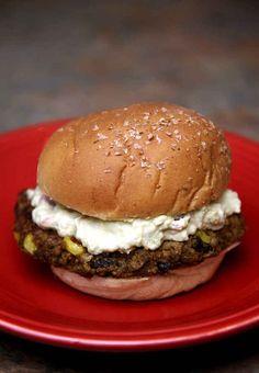 Sweet Potato Burger With Creamy Avocado