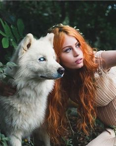 February 25 2018 at Fantasy Photography, Photography Photos, Wolves And Women, Wolf Love, Ginger Girls, Majestic Animals, Witch Art, Book Girl, Redheads