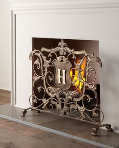 Hogwarts fireplace screen