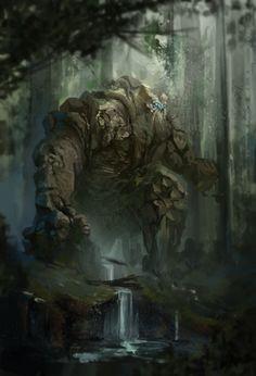 Digital Painting Inspiration Vol. Dark Fantasy Art, Fantasy Artwork, Fantasy Concept Art, Fantasy World, Creature Concept Art, Creature Design, Forest Creatures, Fantasy Creatures, Fantasy Inspiration