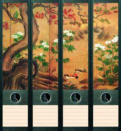 File Art 4 Design Ordner-Etiketten Sunset....................................008