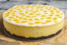 Mango, Cheesecake, Deserts, Food And Drink, Gluten Free, Sweets, Healthy Recipes, Meals, Cooking