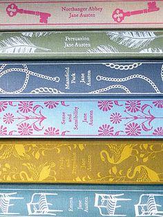 Jane Austen Penguin Classics - I have two, gotta keep adding!